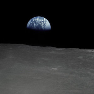 Managed Services Discovery - View of Earth from the Moon