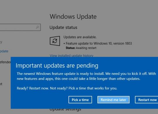 windows-10-version-1803-update-pending-compressor